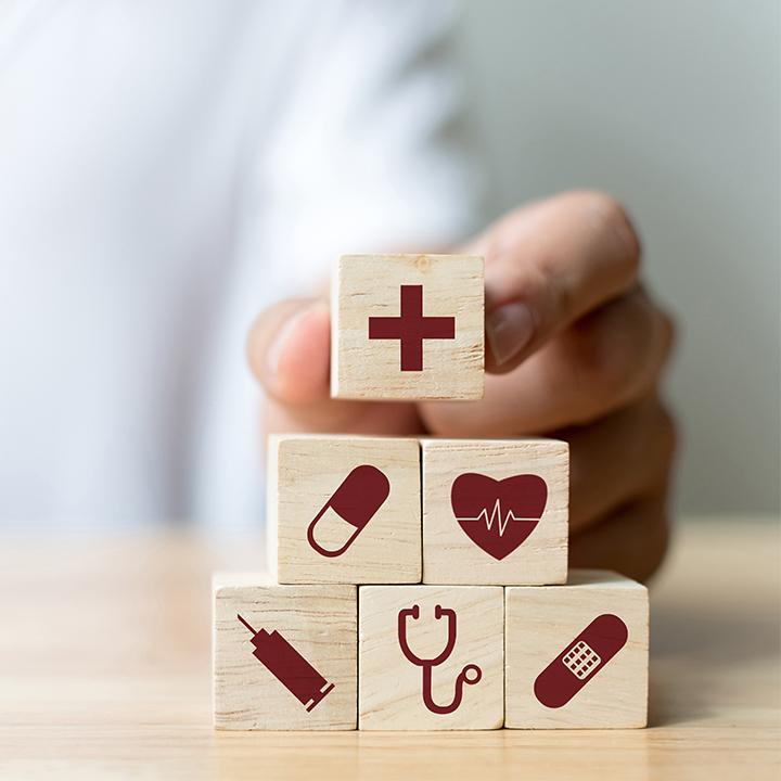 子どもたちの健康を管理するのが仕事